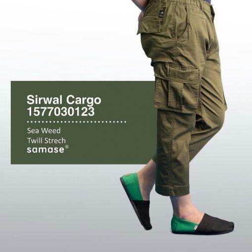 SAMASE 1577-03 SIRWAL KARGO HIJAU ARMY
