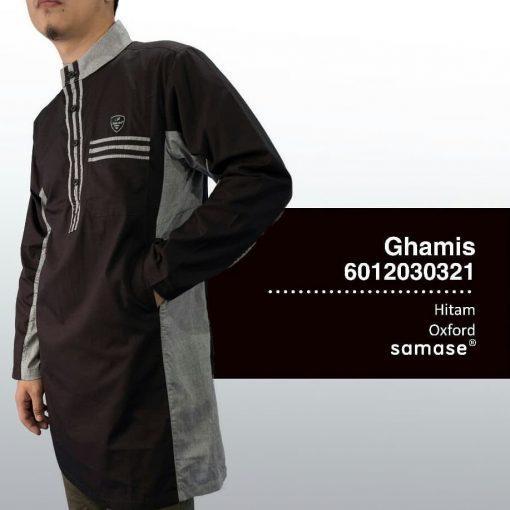 SAMASE 6012-03 GHAMIS 3/4HITAM LIST ABU
