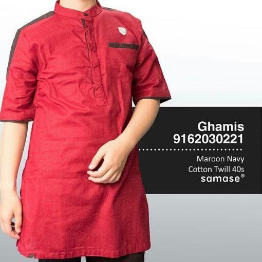 SAMASE 9162-03 GHAMIS PDK MAROON LIST HITAM