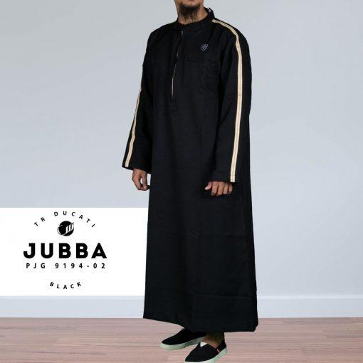 SAMASE 9194-02 JUBAH PJG BIASA HITAM