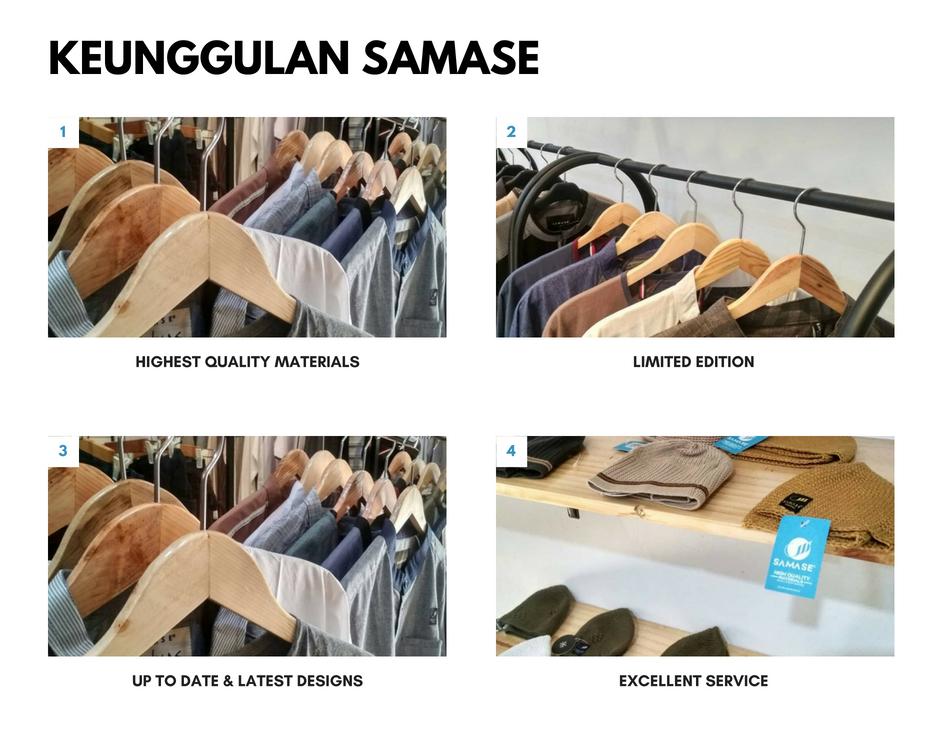 Jual Baju Muslim Samase di Bandung
