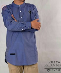 Kurta faded blue