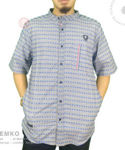 Samase Kemko Pendek S Light Grey Cotton Fillafil