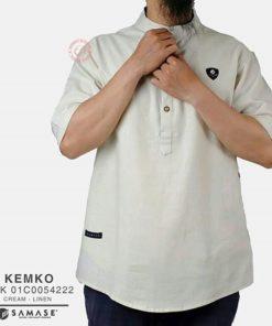 Kemeja Koko Lengan Pendek