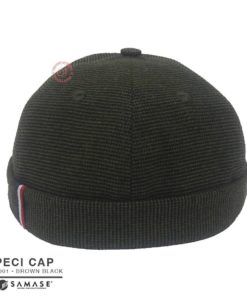 Samase Peci Cap Brown Black