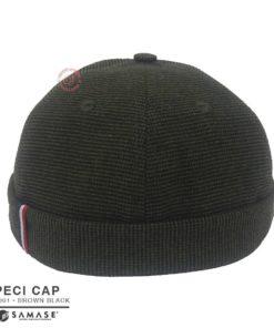 Samase Peci Cap Brown Black