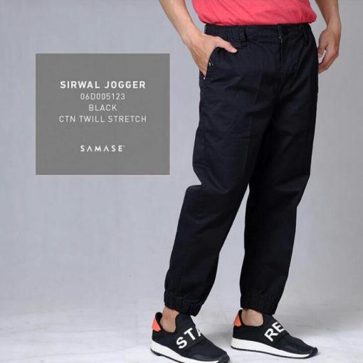 Black Sirwal Jogger Kode: 06D005123
