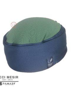 Samase Peci Mesir Navy variasi Green