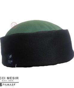 Samase Peci Mesir Hitam variasi Green