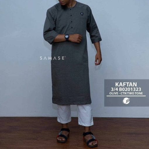 Baju Kaftan Lengan 3/4 B0201323
