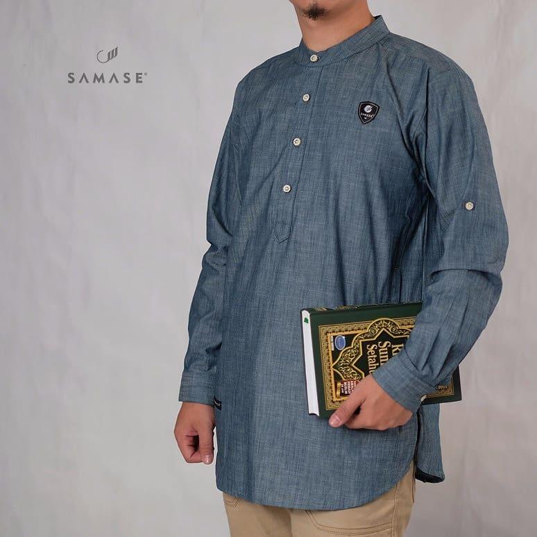 Model Baju Koko Lengan Panjang
