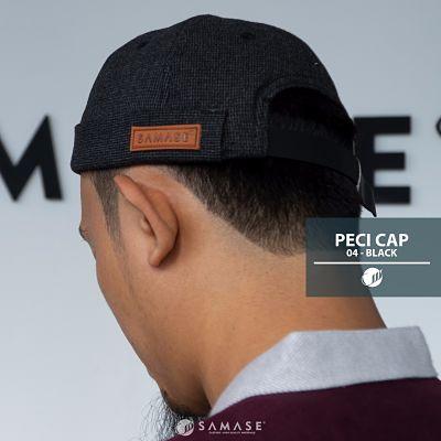 PECI CAP SAMASE BLACK