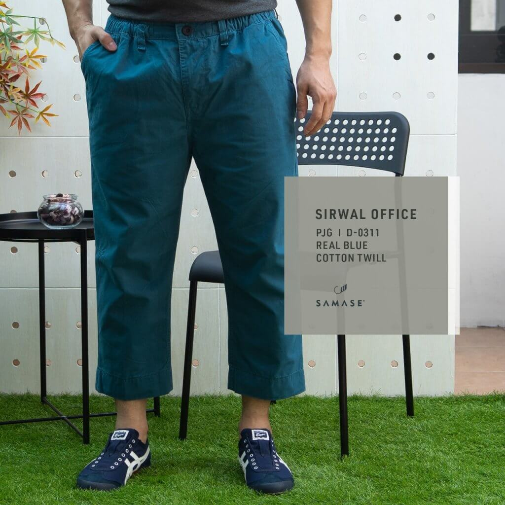Sirwal Office D-0311 Real Blue Twill