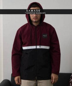 JACKET A08531 WIND BREAKER MAROON