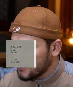 Peci Cap Miki Hat N001 Brown
