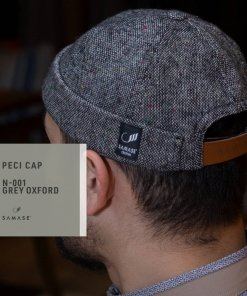 Peci Cap Miki Hat N001 Grey Oxford