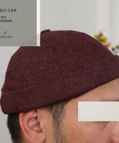 Peci Cap Miki Hat N001 Maroon