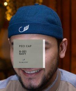 Peci Cap Miki Hat N001 Navy