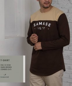 T -SHIRT X0101 New Arrivals Brown