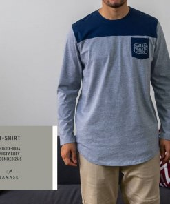 T-Shirt Panjangx I X 0084 Misty Grey