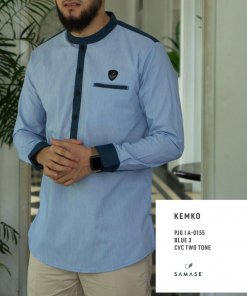 kemko-panjang-a0153-blue-3-cvc-two-tone