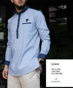 kemko-panjang-a0154-light-grey-cvc-two-tone
