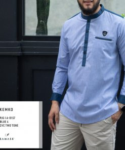 kemko-panjang-a0157-blue-4-cvc-two-tone