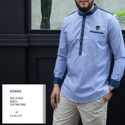 kemko-panjang-a0157-blue-4-cvc-two-tone