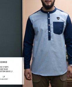 kemko-panjang-v0291-light-blue-cotton-solid-1-1