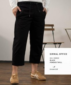 sirwal-office-reguler-n0022-black-powder-twill