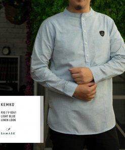 kemko-panjang-v0341-light-blue-linen-look