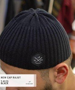 new-cap-rajut-t0173-black